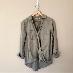 Holding Horses || Olive Utility Top